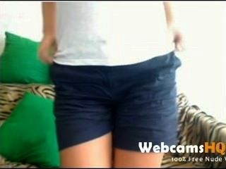 Webcam Masturbation - Super Hot And Busty Webcam Teen