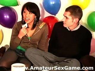 Amateur Girls And Guys Playing A Sex Dare Game