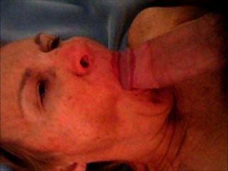 Cocksucker granny