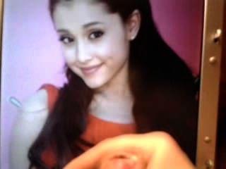 Ariana Grande Cum Tribute 2