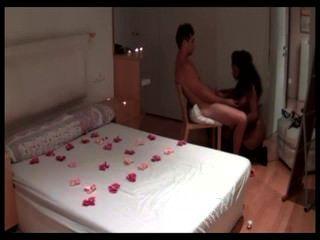 Ebony Girl Receive White Dick In Hotel