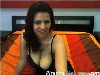 Webcam Masturbation - Very Hot 36d Brunette