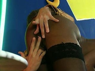Coco Brown In Stockings