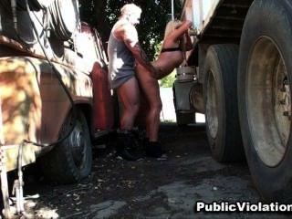 Karen Fisher Truck Stop Fucking Violations
