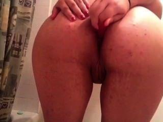 Amateur Slut Plays With Ass