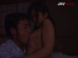 Aozora Busty Asian Big Tits Sucks Cock At Night