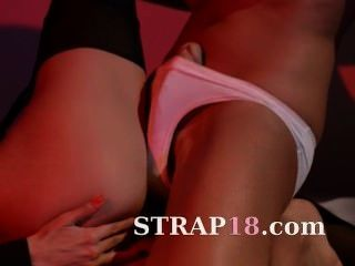 Hot Women Using Strap On To Having Sex