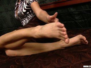 Czech Sexy Feet - Sandra Shows Her Bare Feet