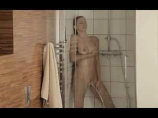 Reaching Orgasm In The Bewitching Shower