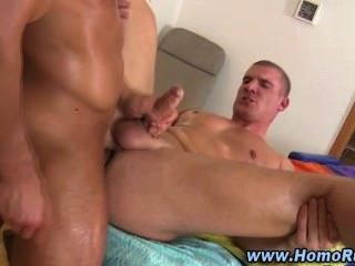 Gay masseur straighty ass fuck