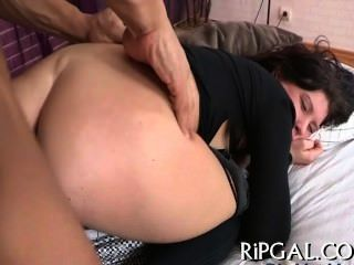 Anal Sex Ends With Facial