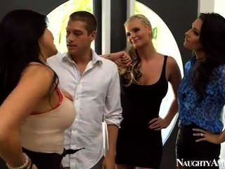 Cheating Wives Hot Foursome