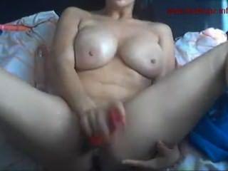 Colombian Cutie Fucking Herself Hard