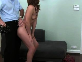 Shy Babe Sucking And Penetrate On Sofa