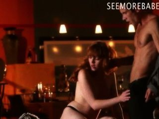 Glamour Red Hair Babe Marie Mccray Sucks Off And Pussy Ripped
