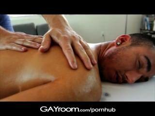 Gayroom Twink Get A Happy Ending From Masseur