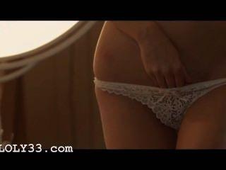 Veronika Rubbing The Button Angelic Hot