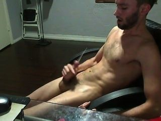 Tampa Dude Strokes And Cums