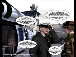 3d Comic: The Philadelphia Project. Episode 3