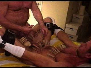 Cbt I Covered His Body With Clothespins