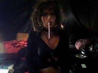Perfect Looking Cd Slut Smoking Vs200s