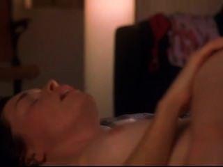 Julianne Nicholson Nude In Flannel Pajamas