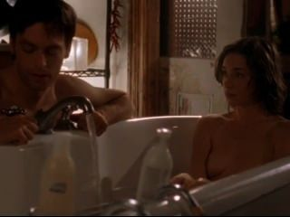 Julianne Nicholson Nude In Flannel Pajamas