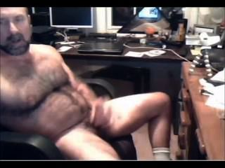 Hairy Verbal Hot Daddy Moanin Strokin Cummin