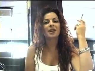 Smoking Woman3