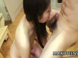 Yui Ikeda - Sweet Japanese Teen Pussy Drilled And Jizzled