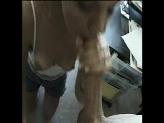 Blonde Amateur Candi Great Blowjob