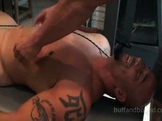 Hot And Sexy Muscle Hunk Bound And Tickled - Billy Gunz