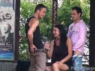 The Best Public Threesome