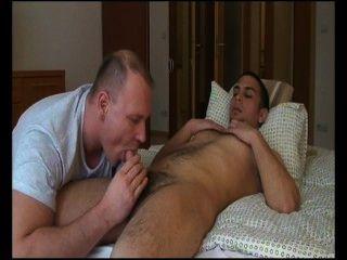 Sexy Eruo Str8 Fucks Older Gay