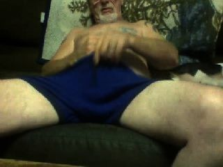 Older Male Masturbates On Cam