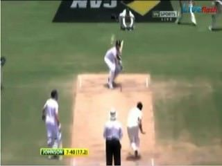 Mitchell Johnson 7-40 Destroys England, Adelaide Oval, Ashes 2013.