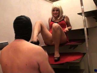 Hot Girl Foot Worshipped