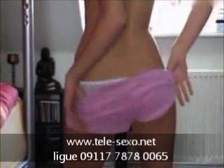 Blond Beauty Stripping Www.tele-sexo.net 09117 7878 0065