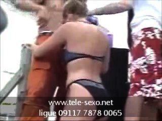 Teens Party Banana Contest Www.tele-sexo.net 09117 7878 0065