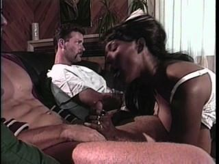 3way With Hot Black Nurse