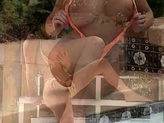 Sarah Young At The Pool