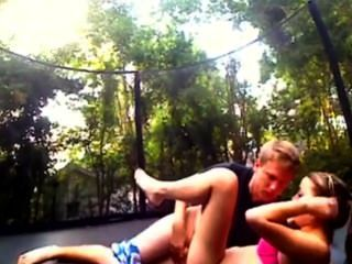 I Like To Fuck My Jessica On Trampoline
