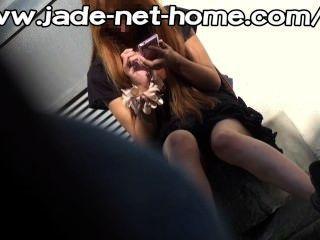 Pm141 Peeping!! Shocking No-panties Girls 10, Harassment Plus1