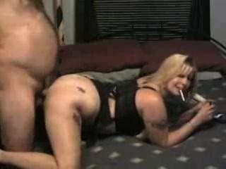 Chubby Slut Wife Smoking While Fucking