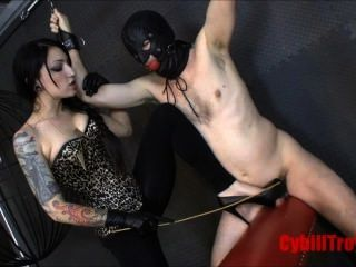 Domme Canes Slave Cock