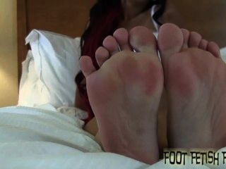 I Want You To Take Out Your Cock And Jerk It To My Feet