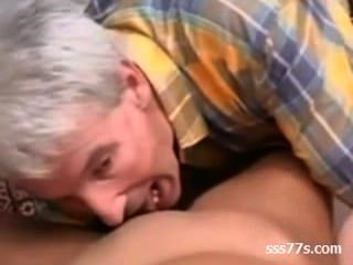 Old Man And Young Asian Babe