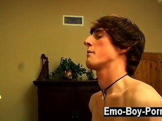 Amazing Gay Scene Jase Gives His Emo Youngster Lover Every Bit Of His