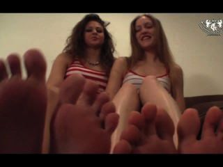 Double Foot Worship Pov