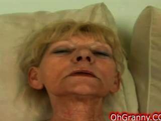 Hot And Slutty Blonde Granny